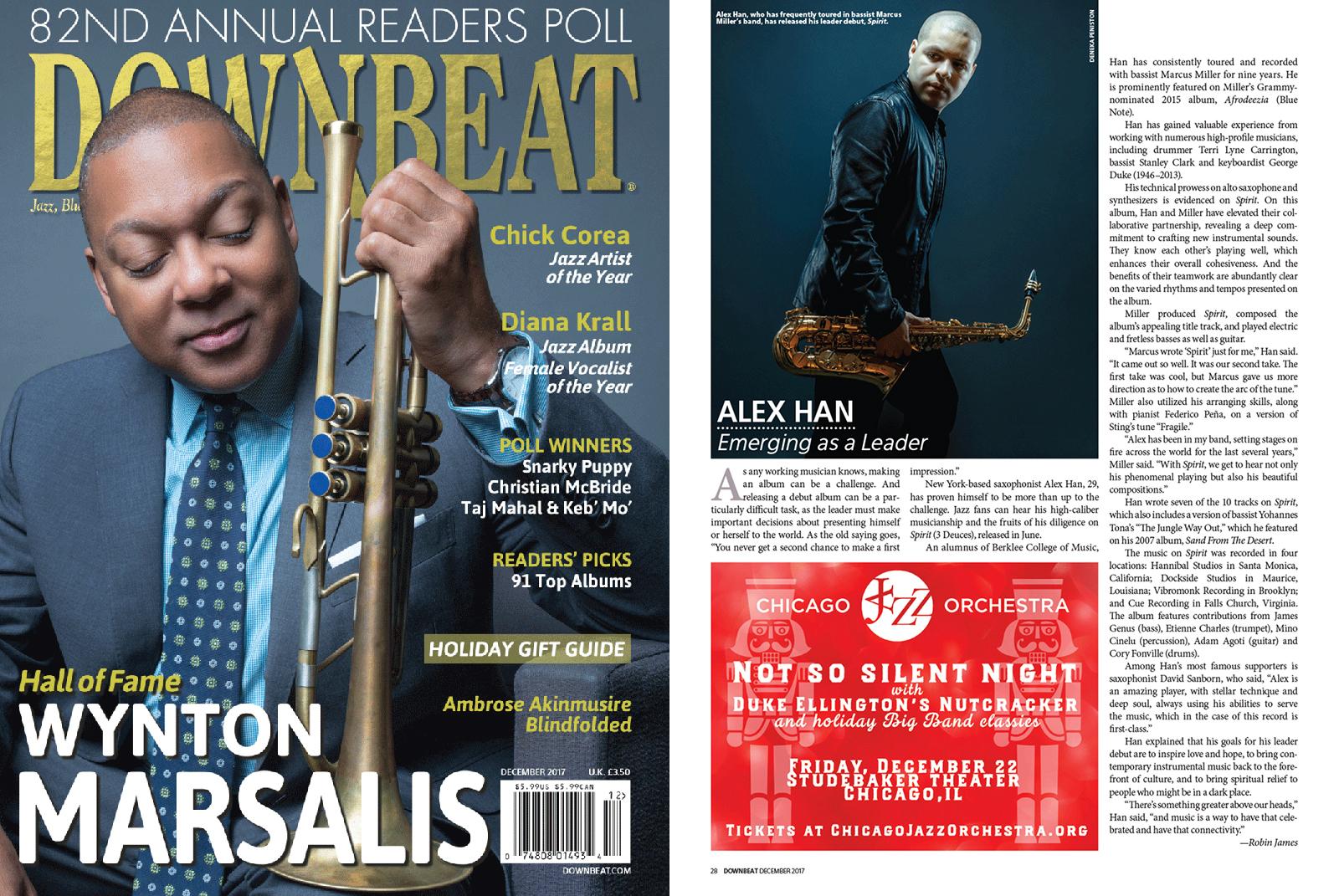 Downbeat Magazine Review of Spirit
